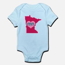 MN Heart Body Suit