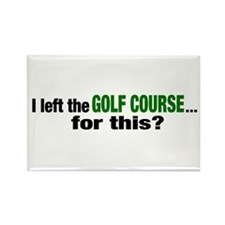 Golf Course Rectangle Magnet