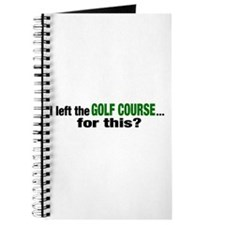 Golf Course Journal