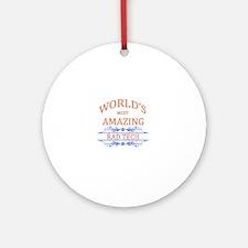 Rad Tech Round Ornament