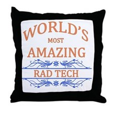 Rad Tech Throw Pillow