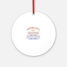 Respiratory Therapist Round Ornament
