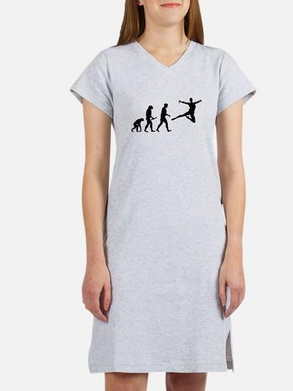 Leaping Evolution Women's Nightshirt