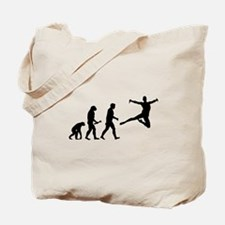 Leaping Evolution Tote Bag