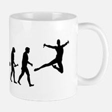 Leaping Evolution Mugs