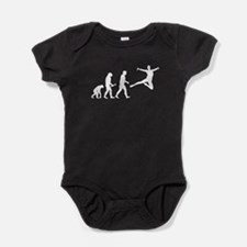 Leaping Evolution Baby Bodysuit