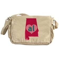 AL Heart Messenger Bag