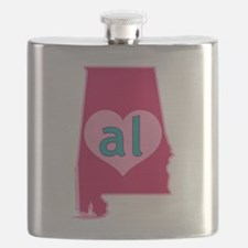 AL Heart Flask