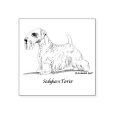 "Sealyham Terrier Square Sticker 3"" x 3"""