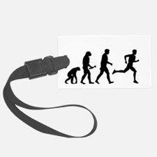 Male Runner Evolution Luggage Tag