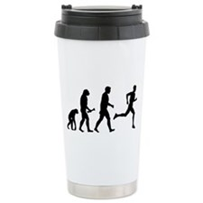Male Runner Evolution Travel Mug