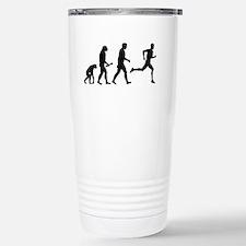 Male Runner Evolution Travel Mug