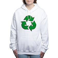 Funny Eco friendly Women's Hooded Sweatshirt
