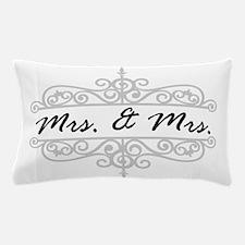 Mrs. And Mrs. Lesbian Wedding Gift Pillow Case