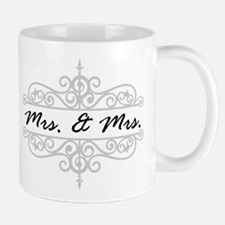 MRS. AND MRS. LESBIAN WEDDING GIFT Mugs