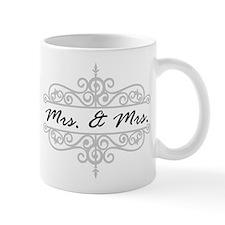 MRS. AND MRS. LESBIAN WEDDING GIFT Mugs