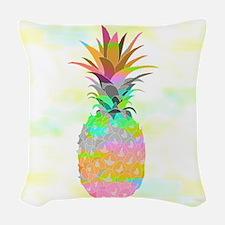 Pineapple Woven Throw Pillow