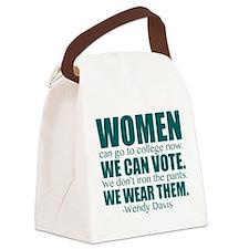 Wendy Davis Women Canvas Lunch Bag
