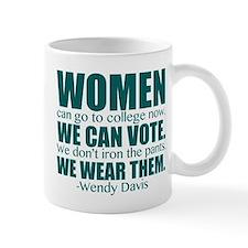 Wendy Davis Women Mug