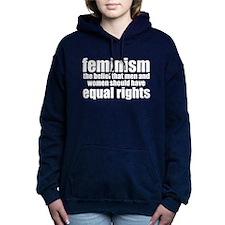 Feminist Women's Hooded Sweatshirt