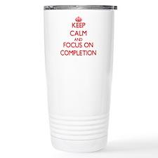 Cute Completion Travel Mug