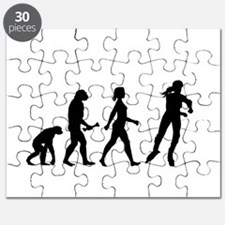 Inline Skating Evolution Puzzle