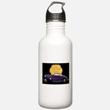 Art Deco Reo Royale Convertible Coupe Water Bottle