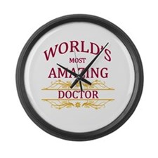 Doctor Large Wall Clock