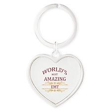 EMT Heart Keychain