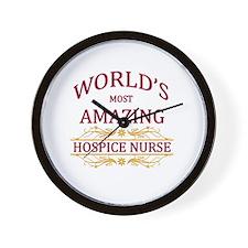 Hospice Nurse Wall Clock