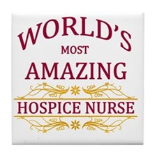 Hospice Nurse Tile Coaster