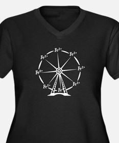 Ferrous Ferris Wheel Plus Size T-Shirt