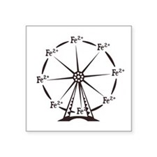 Ferrous Ferris Wheel Sticker