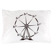 Ferrous Ferris Wheel Pillow Case