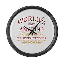 Nurse Practitioner Large Wall Clock
