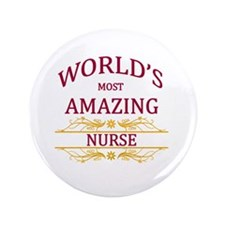 "Nurse 3.5"" Button"
