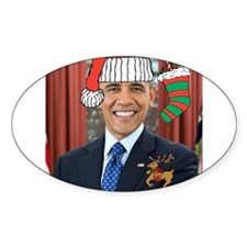 Obama Christmas Decal