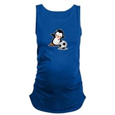 I Like Soccer Maternity Tank Top