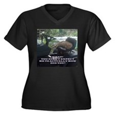 Mower Cat Plus Size T-Shirt