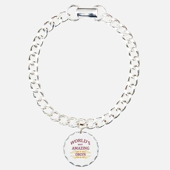 OBGYN Charm Bracelet, One Charm