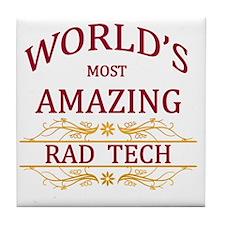 Rad Tech Tile Coaster