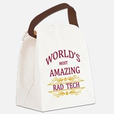 Rad Tech Canvas Lunch Bag