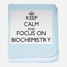Cute Biochemistry baby blanket