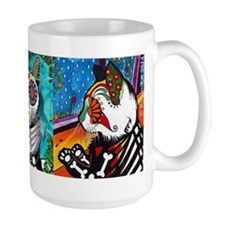 RobiniArt Triple Cat Coffee Mug Mugs