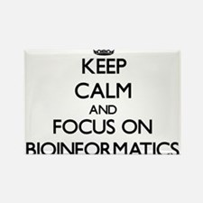 Keep calm and focus on Bioinformatics Magnets