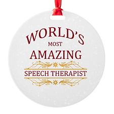 Speech Therapist Ornament