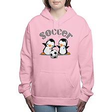 I Like Soccer (4) Women's Hooded Sweatshirt