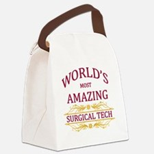 Surgical Tech Canvas Lunch Bag