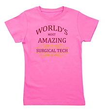 Surgical Tech Girl's Tee