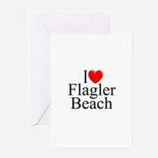 """I Love Flagler Beach"" Greeting Cards (Package of"